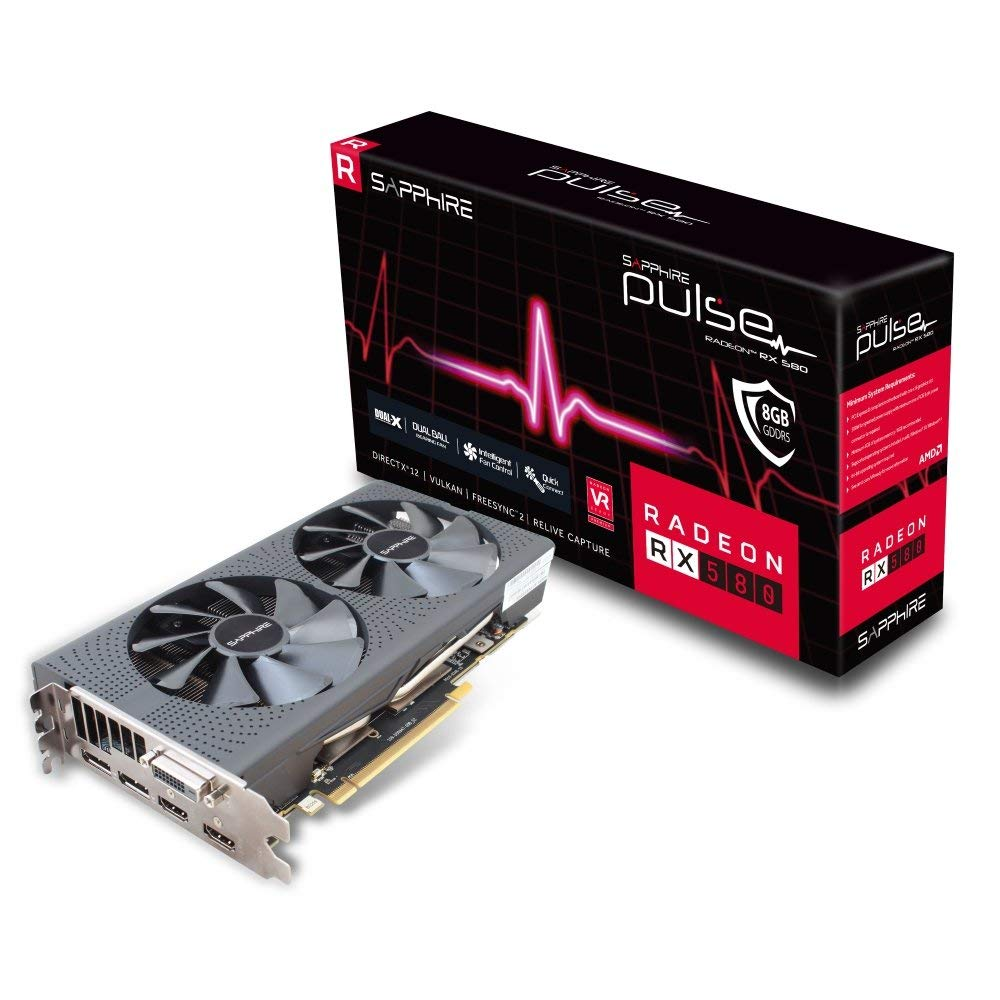 Sapphire Pulse Radeon RX 580 Graphics Card Review